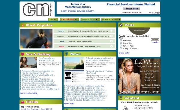 collegenews web